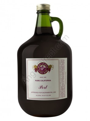Mont La Salle Port Altar Wine - 3 Liter Bottle Size