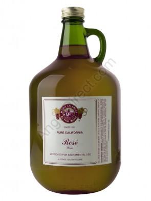 Mont La Salle Rosé Altar Wine - 3 Liter Bottle Size