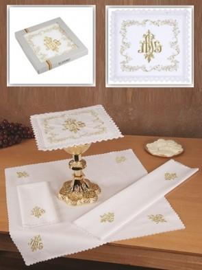 R.J. Toomey 100% Cotton IHS Four-Piece Linen Set