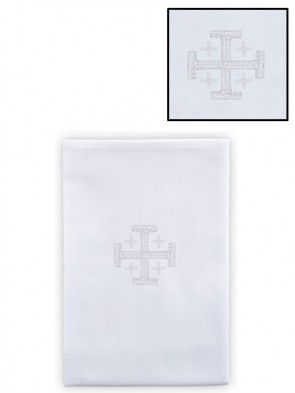 R.J. Toomey 100% Cotton Jerusalem Cross Lavabo Towel - Pack of 4