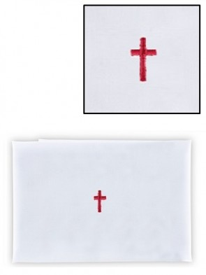 R.J. Toomey 100% Cotton Red Cross Purificator - Pack of 12