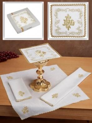 R.J. Toomey 100% Linen IHS Four-Piece Linen Set