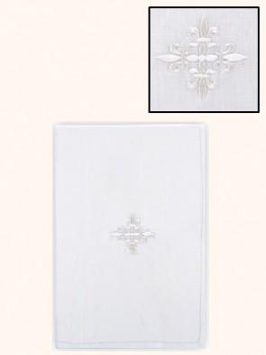 R.J. Toomey 100% Linen Fleur-de-Lis Lavabo Towel - Pack of 3