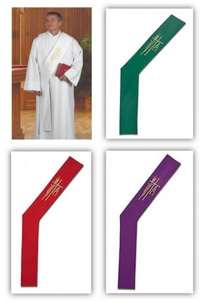 R.J. Toomey Alpha Omega Collection Set Of Four Deacon Stoles