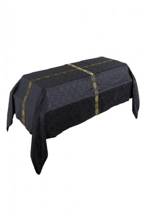 R.J. Toomey Avignon Collection Black, 6'W X 10'L Funeral Pall