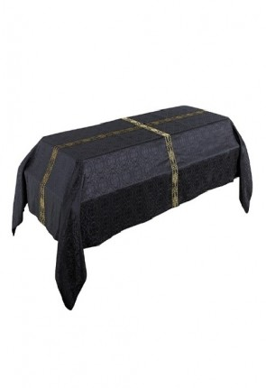R.J. Toomey Avignon Collection Black, 8'W X 12'L Funeral Pall
