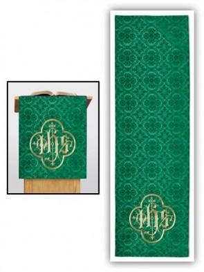 R.J. Toomey Avignon Collection Green Overlay Cloth