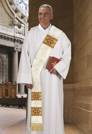 R.J. Toomey Avignon Collection Ivory Deacon Stole