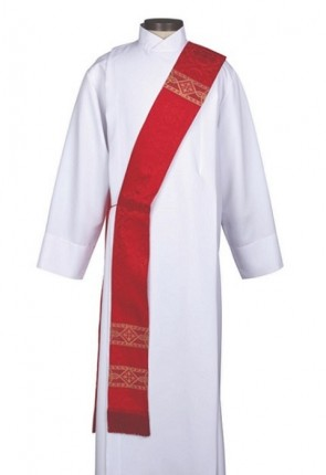 R.J. Toomey Avignon Collection Red Deacon Stole