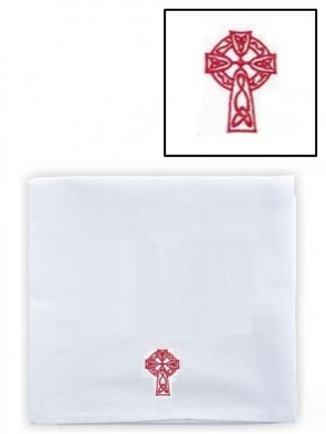 R.J. Toomey Cotton/Linen Celtic Cross Corporal - Pack of 3