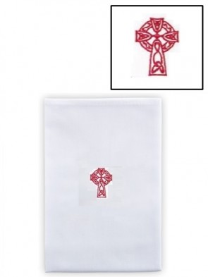 R.J. Toomey Cotton/Linen Celtic Cross Lavabo Towel - Pack of 3