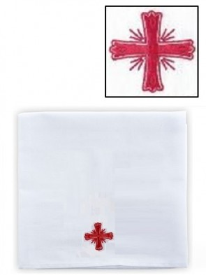 R.J. Toomey Cotton/Linen Greek Cross Corporal - Pack of 3