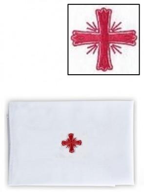 R.J. Toomey Cotton/Linen Greek Cross Purificator - Pack of 3