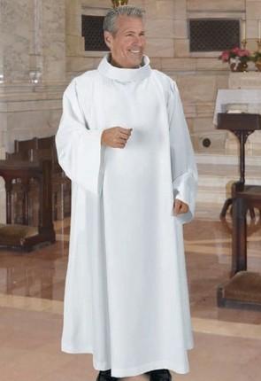R.J. Toomey Cowl Neck Monastic Alb