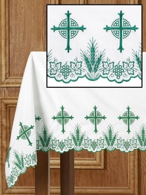 R.J. Toomey Eucharistic Collection Green Altar Frontal