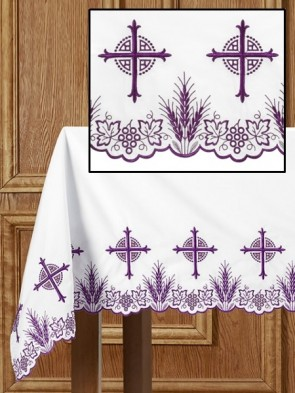 R.J. Toomey Eucharistic Collection Purple Altar Frontal