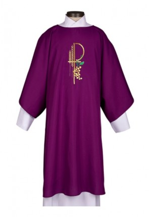 R.J. Toomey Eucharistic Collection Purple Dalmatic With Inner Stole