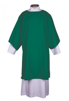 R.J. Toomey Everyday Collection Green Dalmatic With Inner Stole