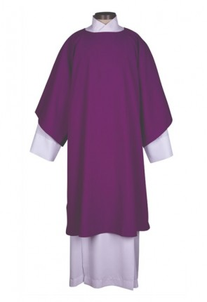 R.J. Toomey Everyday Collection Purple Dalmatic With Inner Stole