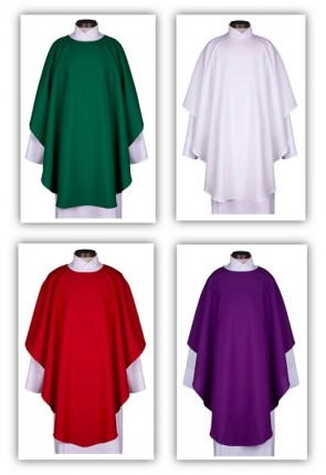 R.J. Toomey Everyday Collection Set Of Four Chasubles With Inner Stoles