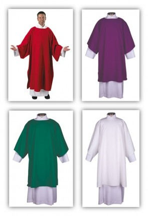 R.J. Toomey Everyday Collection Set Of Four Dalmatics With Inner Stoles
