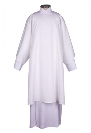 R.J. Toomey Everyday Collection White Dalmatic With Inner Stole