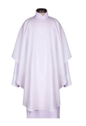 R.J. Toomey Everyday Collection White Chasuble With Inner Stole