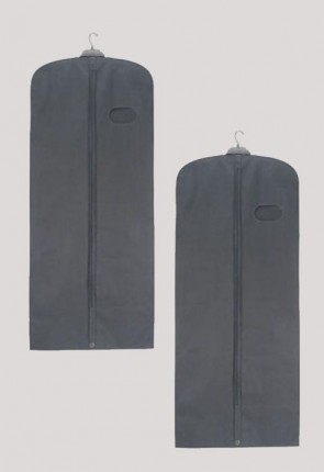 "R.J. Toomey Gray, 62"" Long Vestment/Garment Travel Bag - Set Of 2 Bags"