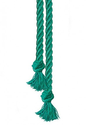 "R.J. Toomey Green 90""L Cord Knot Cincture For Servers"
