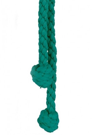 "R.J. Toomey Green 96""L Monk's Knot Cincture For Servers"