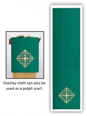 R.J. Toomey Holy Trinity Collection Green Overlay Cloth