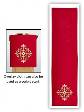 R.J. Toomey Holy Trinity Collection Red Overlay Cloth