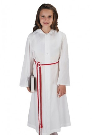 R.J. Toomey Hooded Monastic Server Alb