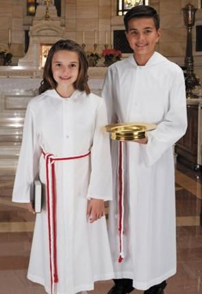 "R.J. Toomey ""New Englander"" Hooded Monastic Server Alb"