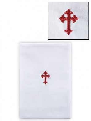 R.J. Toomey Polyester/Cotton Fleur-de-Lis Lavabo Towel - Pack of 12