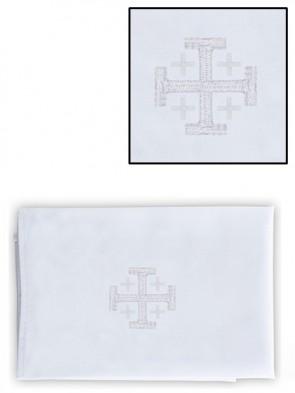 R.J. Toomey Polyester/Cotton Jerusalem Cross Purificator - Pack of 4