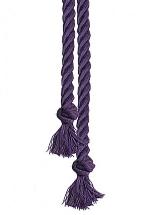 "R.J. Toomey Purple 90""L Cord Knot Cincture For Servers"