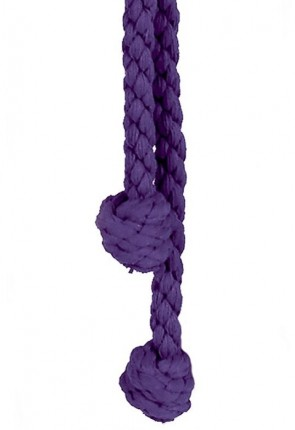 "R.J. Toomey Purple 96""L Monk's Knot Cincture For Servers"
