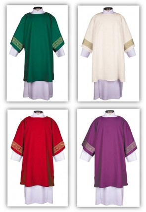 R.J. Toomey San Damiano Collection Set Of Four Dalmatics With Inner Stoles