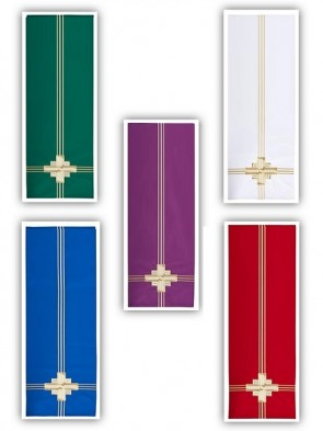 R.J. Toomey Trinity Cross Collection Set of Five Overlay Cloths