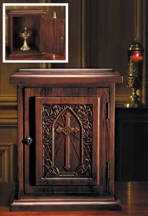 "Robert Smith 20""H IHS Hardwood Tabernacle"