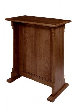 "Robert Smith 26-1/2""W Abbey Collection Credence Table"