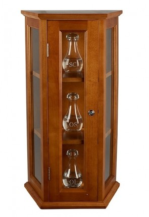 "Robert Smith 31""H Ambry Display Cabinet"