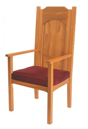 "Robert Smith Abbey Collection 48""H Celebrant Chair"