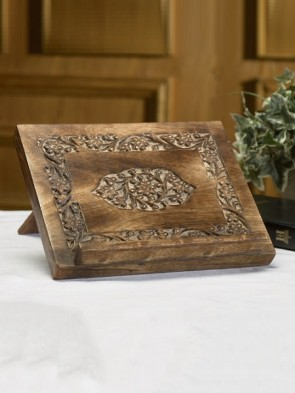 Robert Smith Carved Bible/Missal Stand