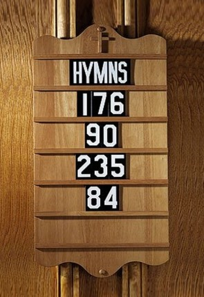 Robert Smith Replacement Set Of Numerals For Hymn Board