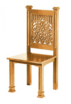 "Robert Smith Tree Of Life Collection 41""H Side Chair"