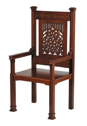 "Robert Smith Tree Of Life Collection 48""H Celebrant Chair"