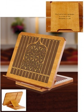 Robert Smith Tree Of Life Collection Adjustable Bible/Missal Stand
