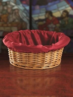 """Sudbury Brass 12""""D Round Offering Basket"""